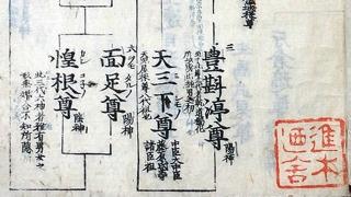 03-192 本朝皇胤紹運録01 in 臥遊堂沽価書目「所好」三号