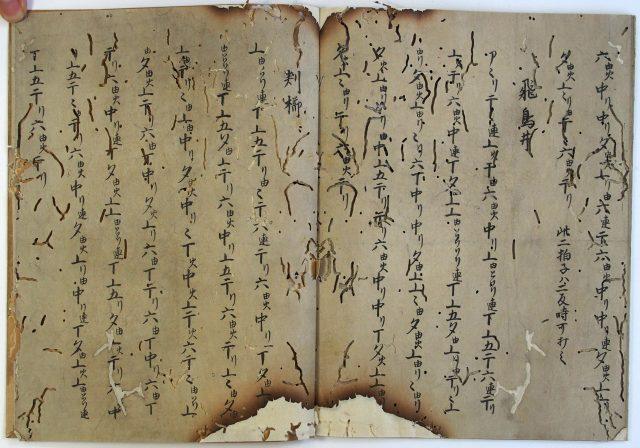 狛諸成・上真行 雅楽資料-1886e